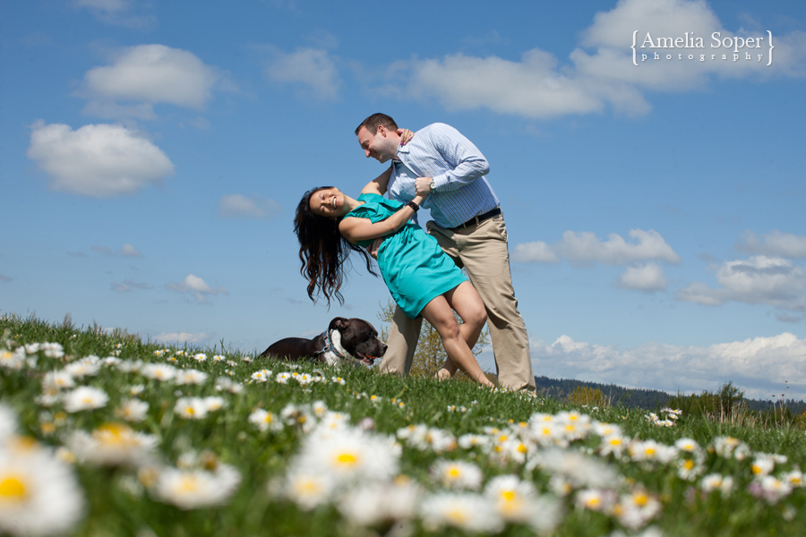 Seattle Spring Engagement Session | Patrick + Tey