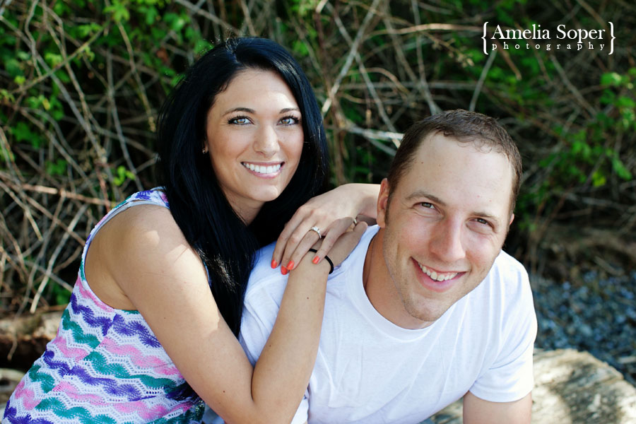 Krystina + Nick | Beachy Everett Engagement Session