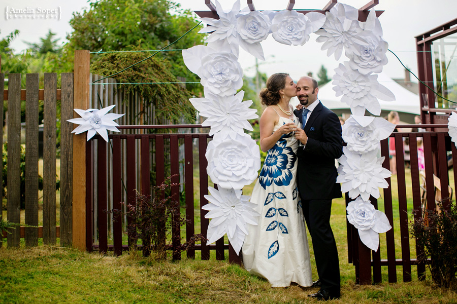 Erin + Nathan | Beautiful Backyard Wedding | Nanaimo Wedding Photography