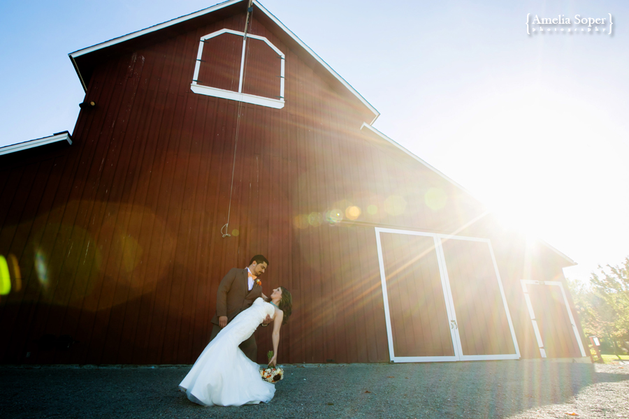 Heather + David | Rustic Pickering Barn Wedding