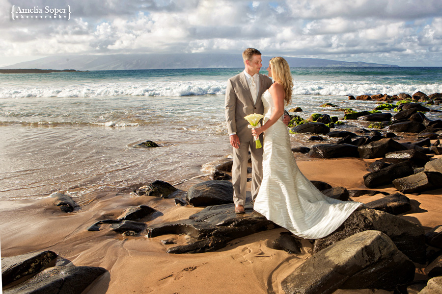 Elena + Justin | Hawaiian Beach Ceremony | Maui Destination Wedding