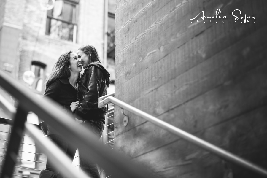 LGBT engagement photography