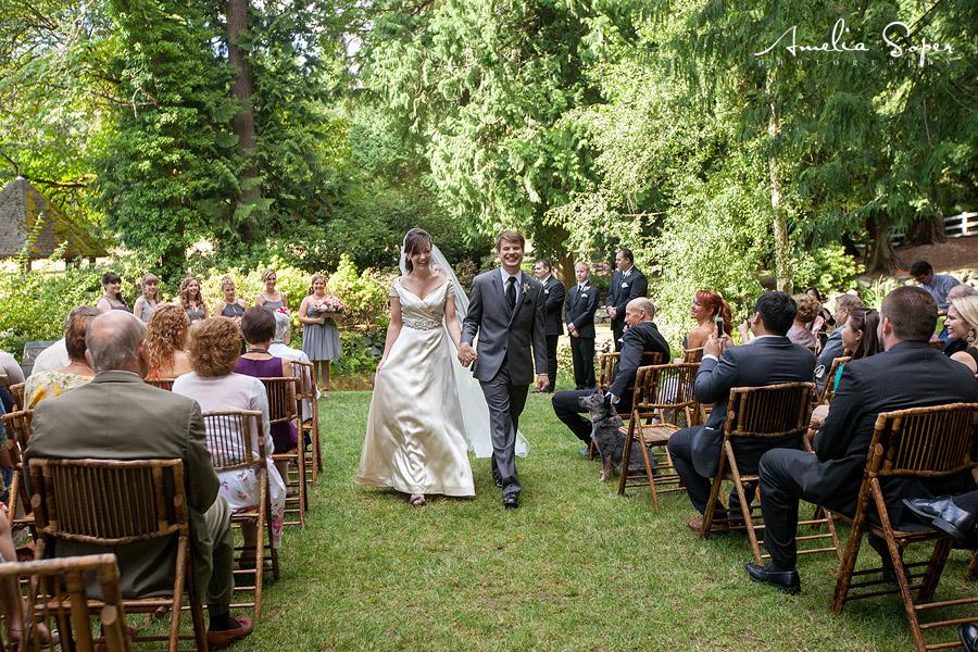 DeLille Cellars Wedding