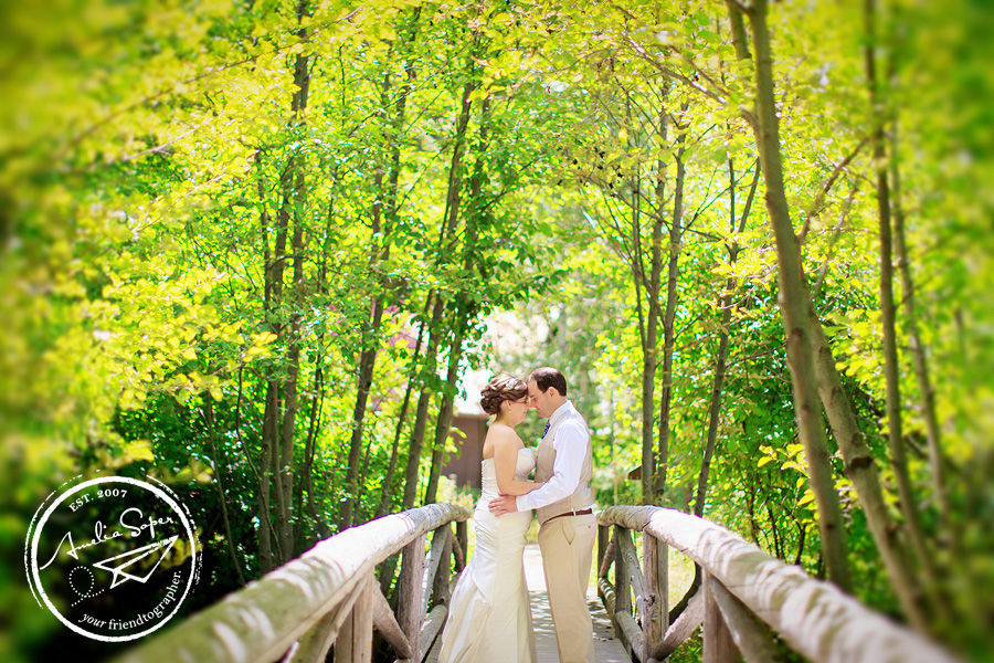 Rustic Leavenworth Wedding at Sleeping Lady Resort
