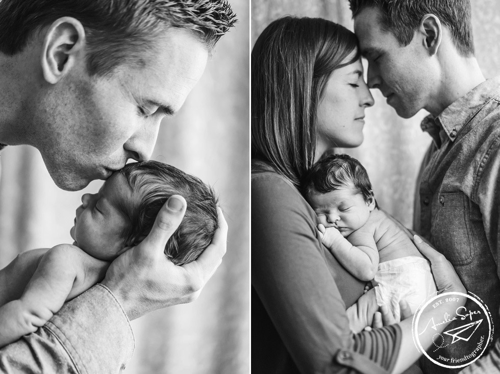 Lifestyle Seattle Newborn Photography