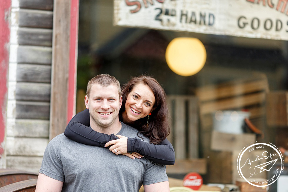 snohomish engagement photography