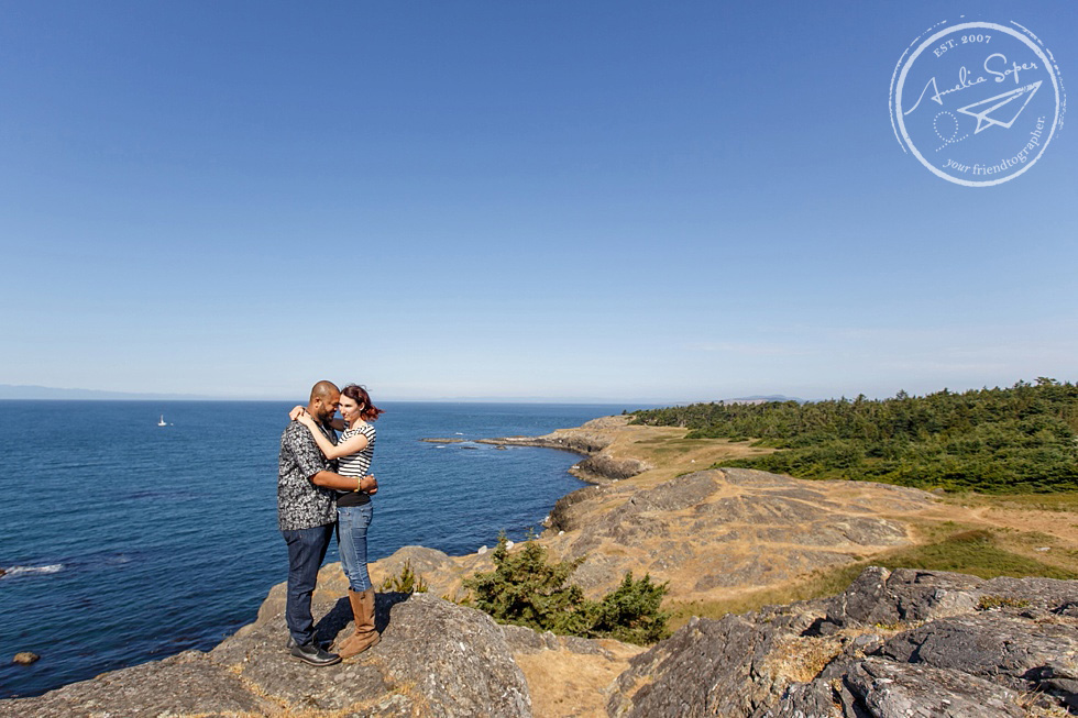 Robyn + Abe | Lopez Island Engagement Photography