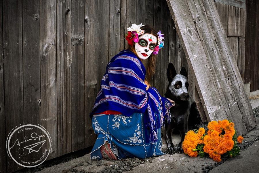 Celebrating All Souls | Themed Shoot in Petaluma, CA