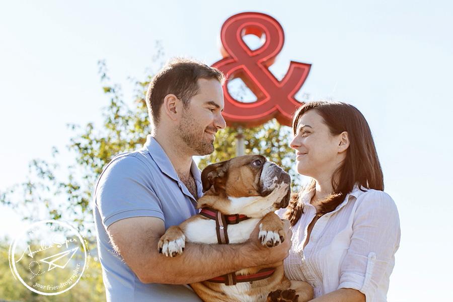 Michele + Tim | Seattle Bulldog Engagement