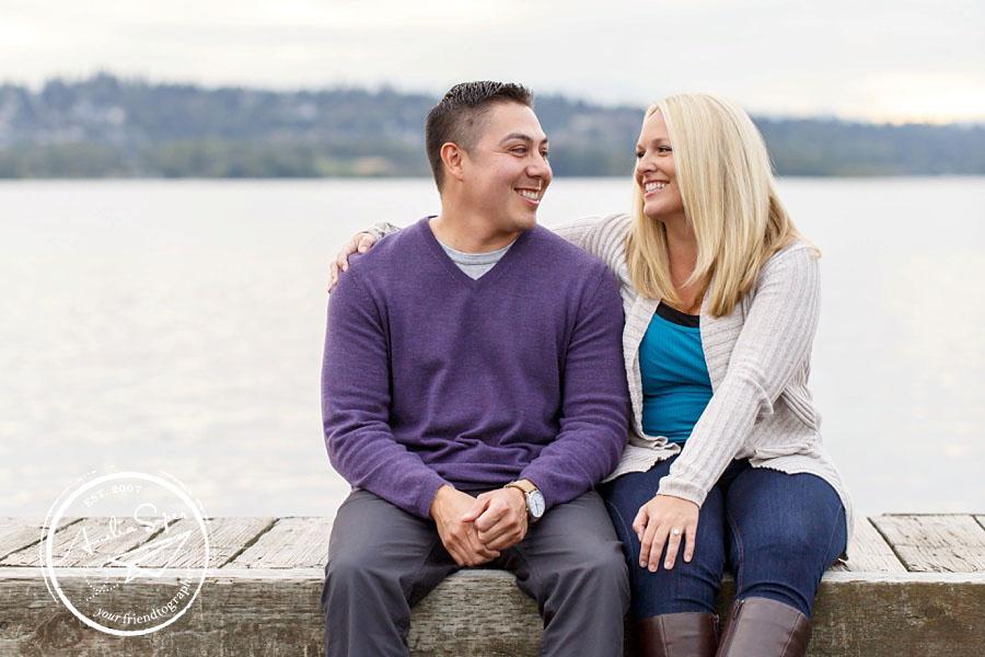 Gene + Mallory | Kirkland Waterfront Engagement