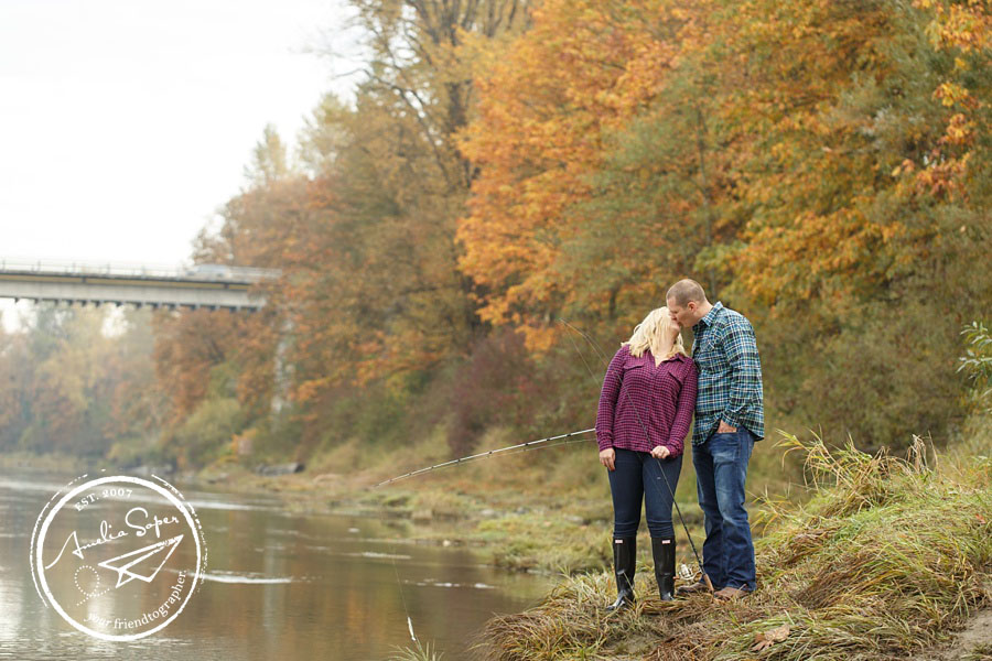 Rachelle + Tyson | Outdoorsy Duvall Engagement Session