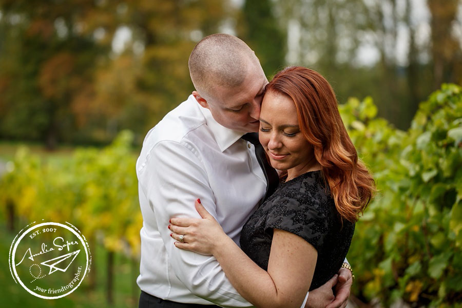 Sarah + Nic | Chateau St. Michelle Winery Engagement