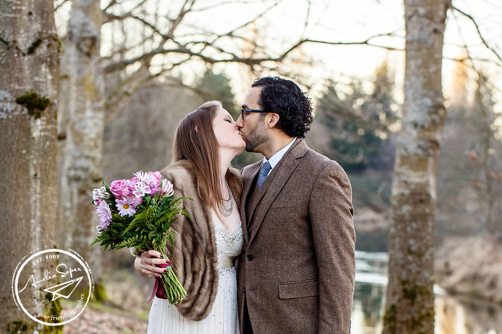 Sarah + Alex | Woodinville Elopement | Willows Lodge