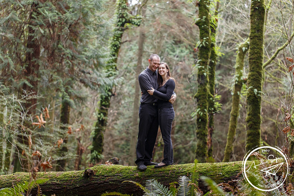Zoe + Jascha | Woodsy PNW Engagement | Seattle