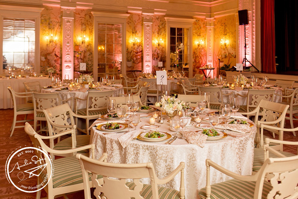 The Sunset Club Wedding Seattle - Baroque ornate wedding design