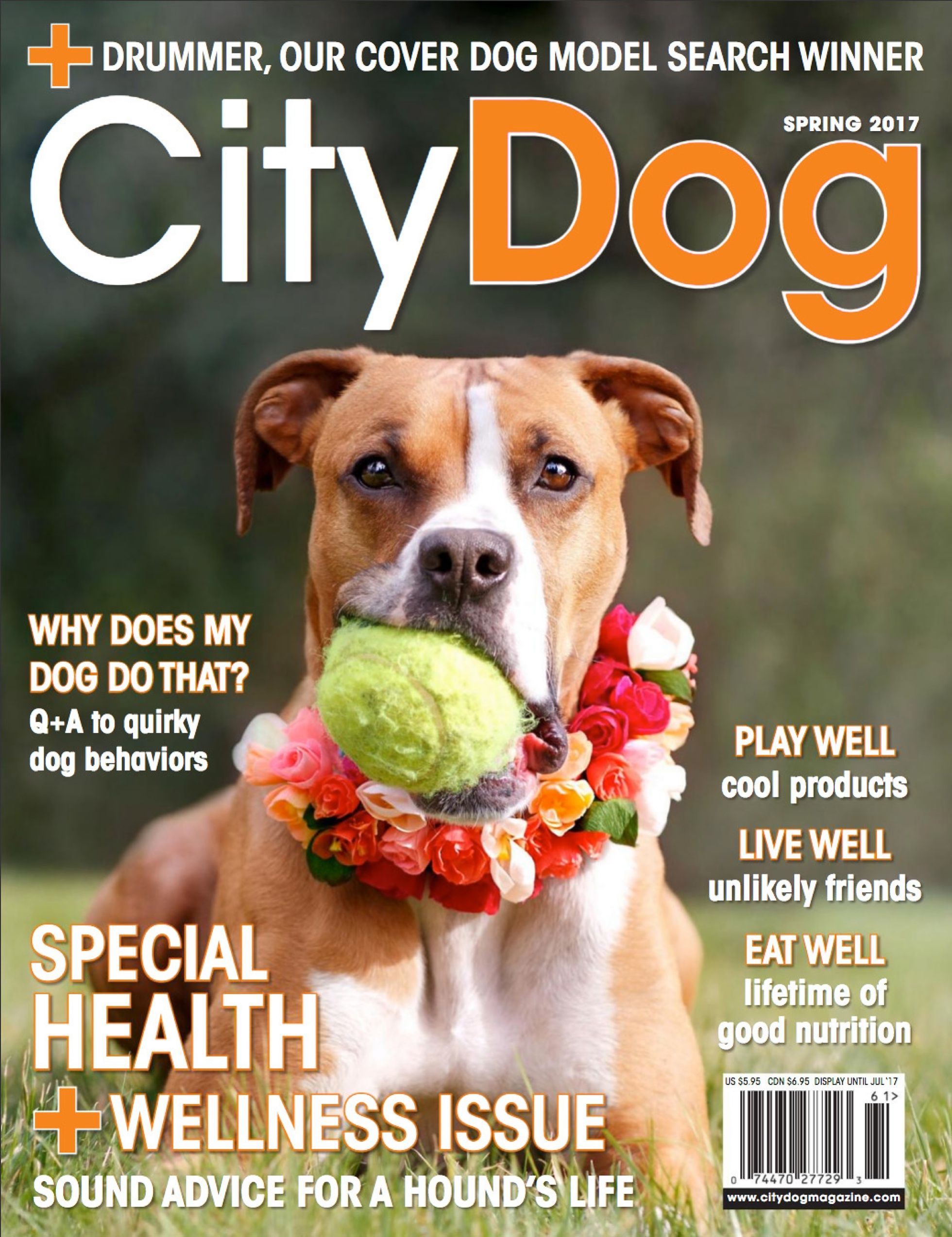 CityDog Cover shoot
