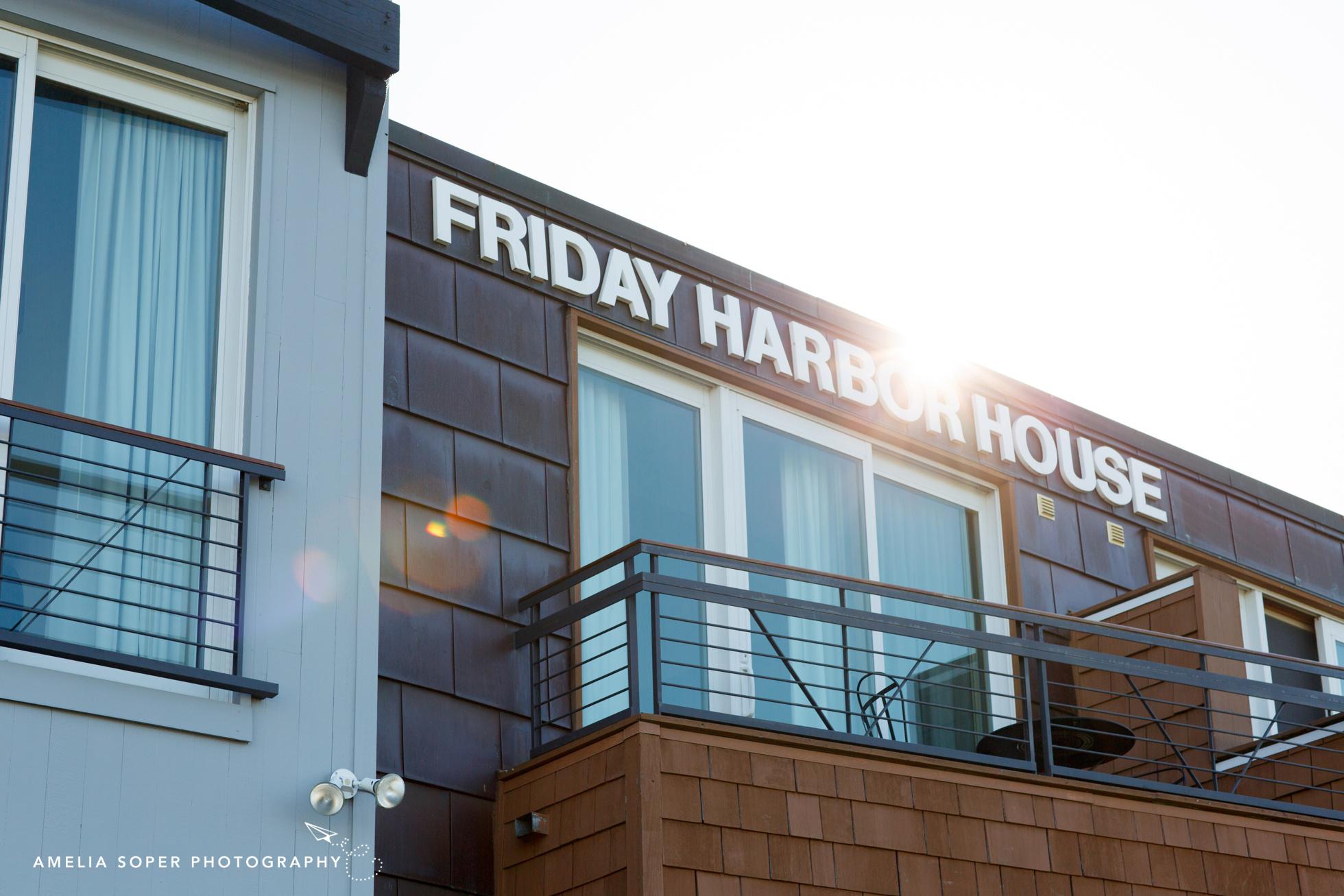 Friday harbor House Wedding