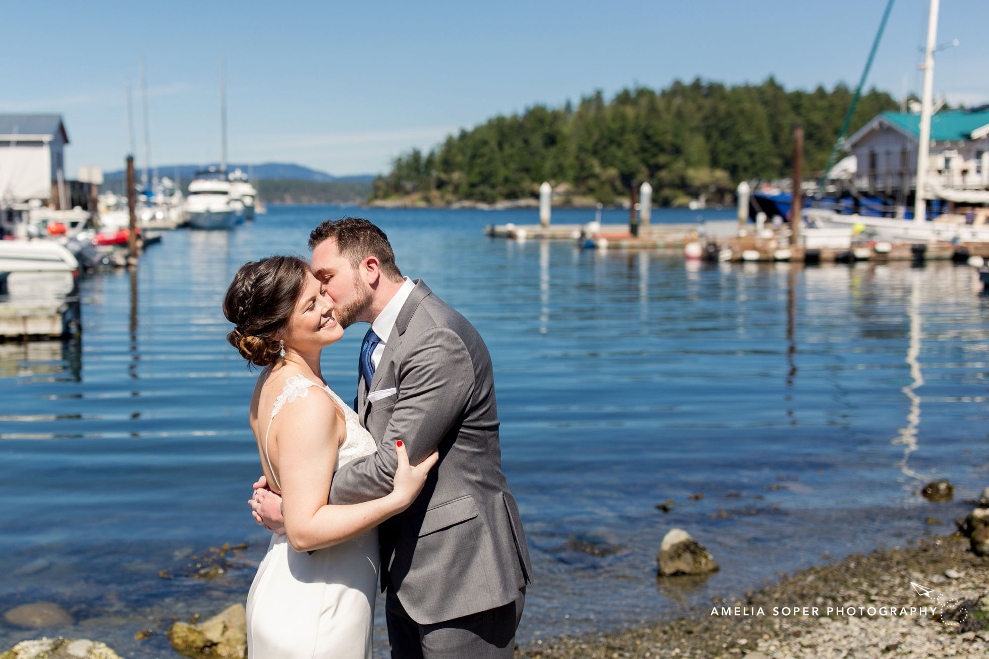 Island Wedding at Friday Harbor House
