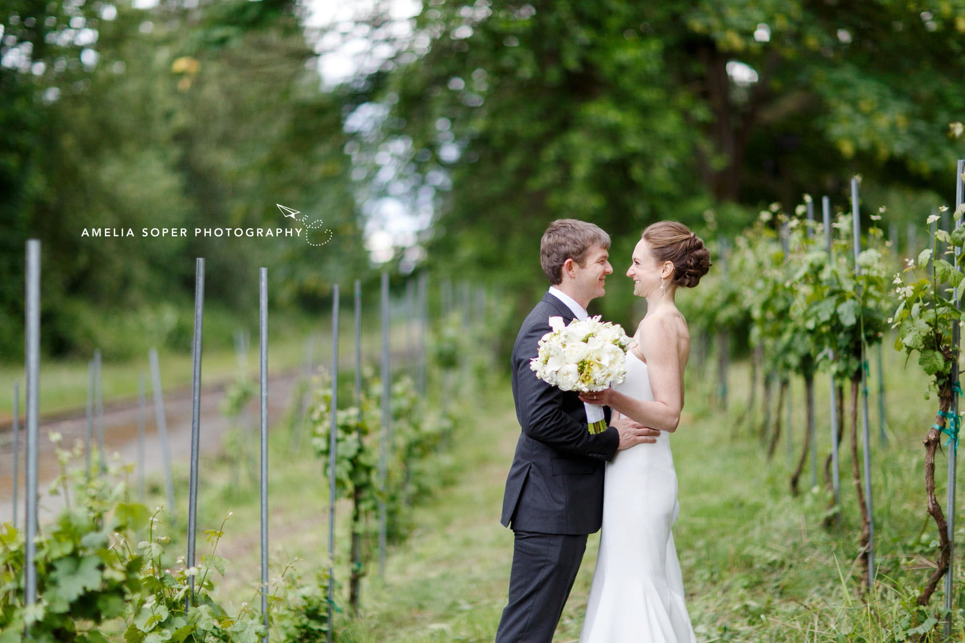 Januik Winery Wedding - Amelia Soper Photography