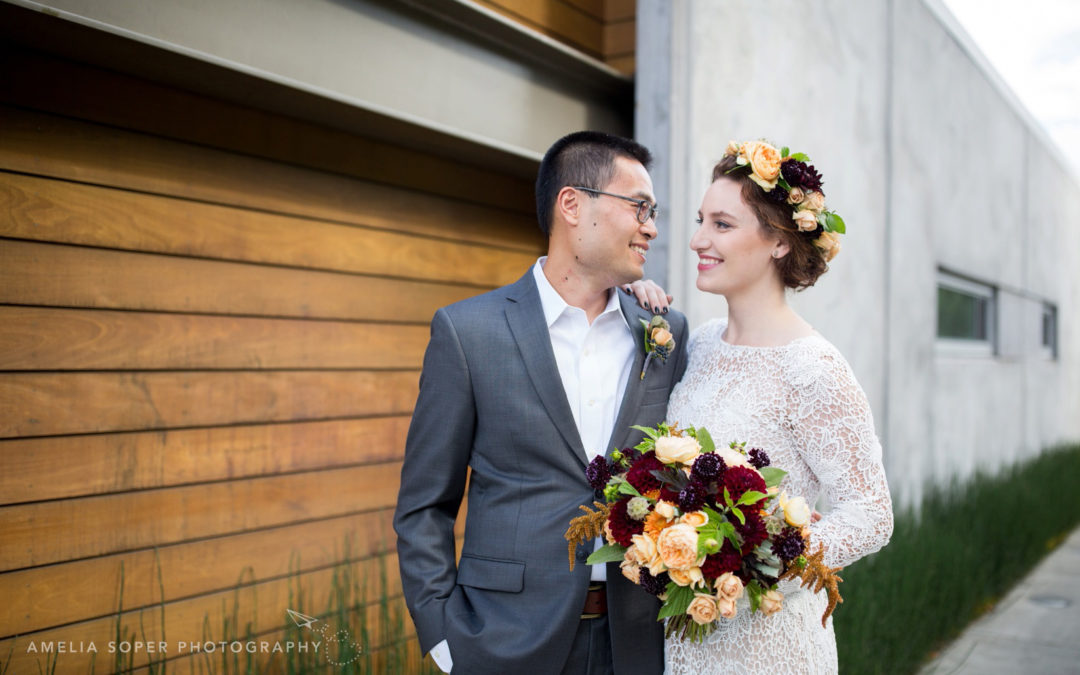 Alexis + Scott's Novelty Hill Januik Winery Wedding in Woodinville, WA