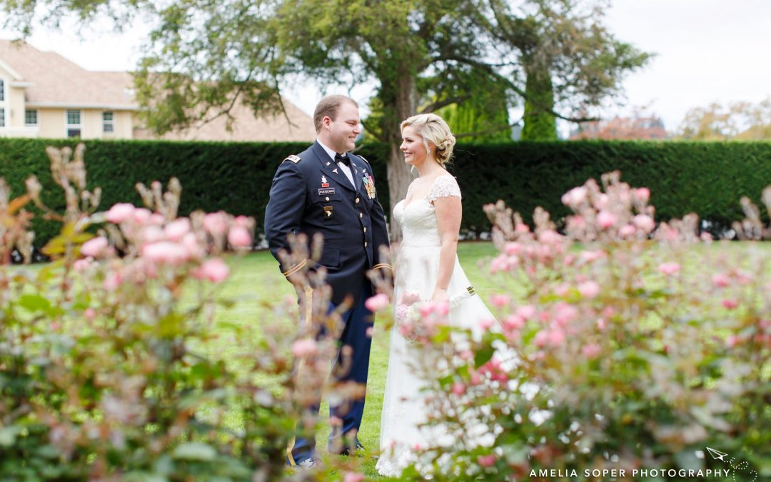 Emily + Marc's Thornwood Castle Wedding in Lakewood, WA