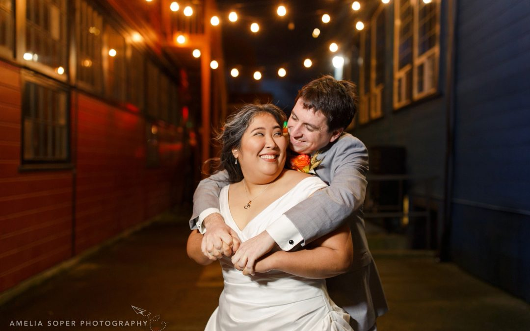 Rumi + Charlie's Sodo Park Wedding in Seattle, WA