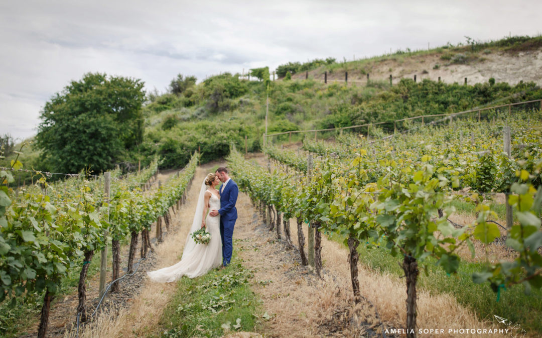Katie & Josh's Rustic Karma Vineyards Wedding