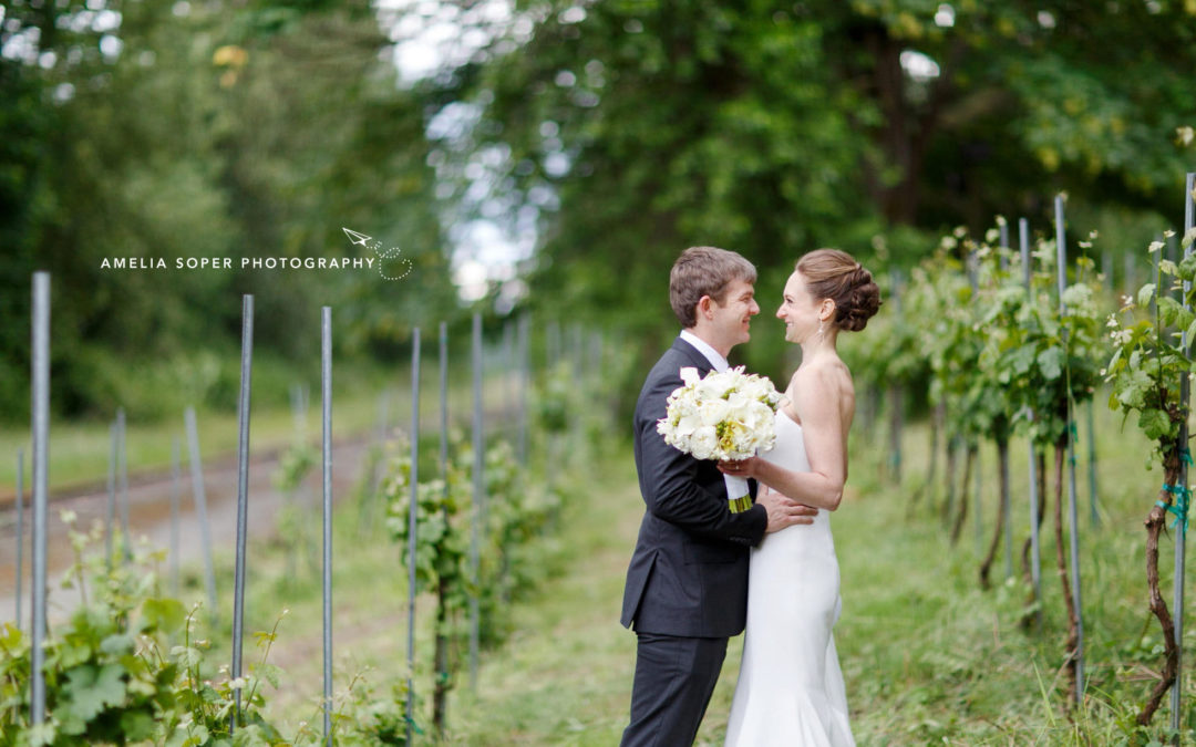 Jaime & Joe's Sunny Novelty-Hill Januik Winery Wedding in Woodinville, WA