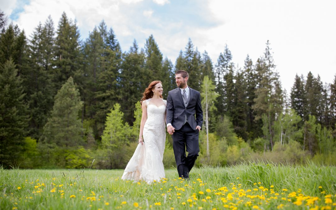 Chelsea & Derek's Spring Wedding at Mountain Springs Lodge