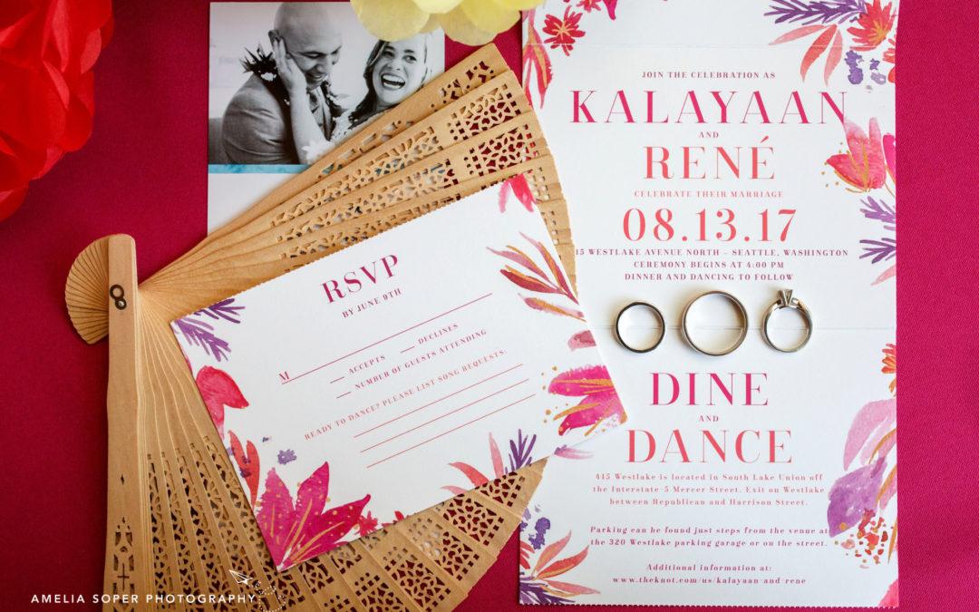Kalayaan and René's Festive 415 Westlake Wedding