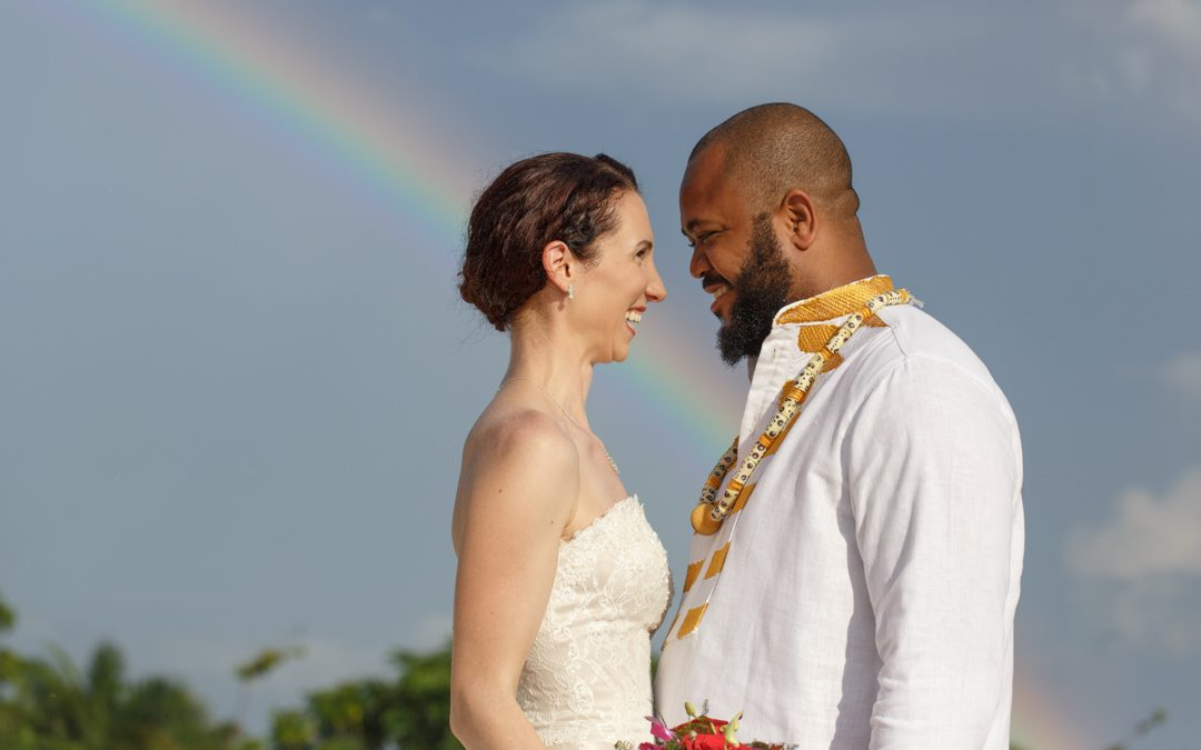 Robyn + Abe | Destination Jamaican Wedding | Beach House Villas, Negril