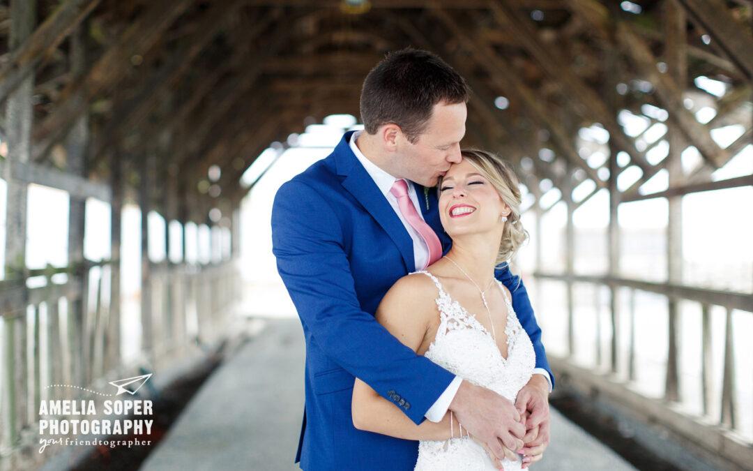 Caitlin + Paul's Magical Dairyland Wedding
