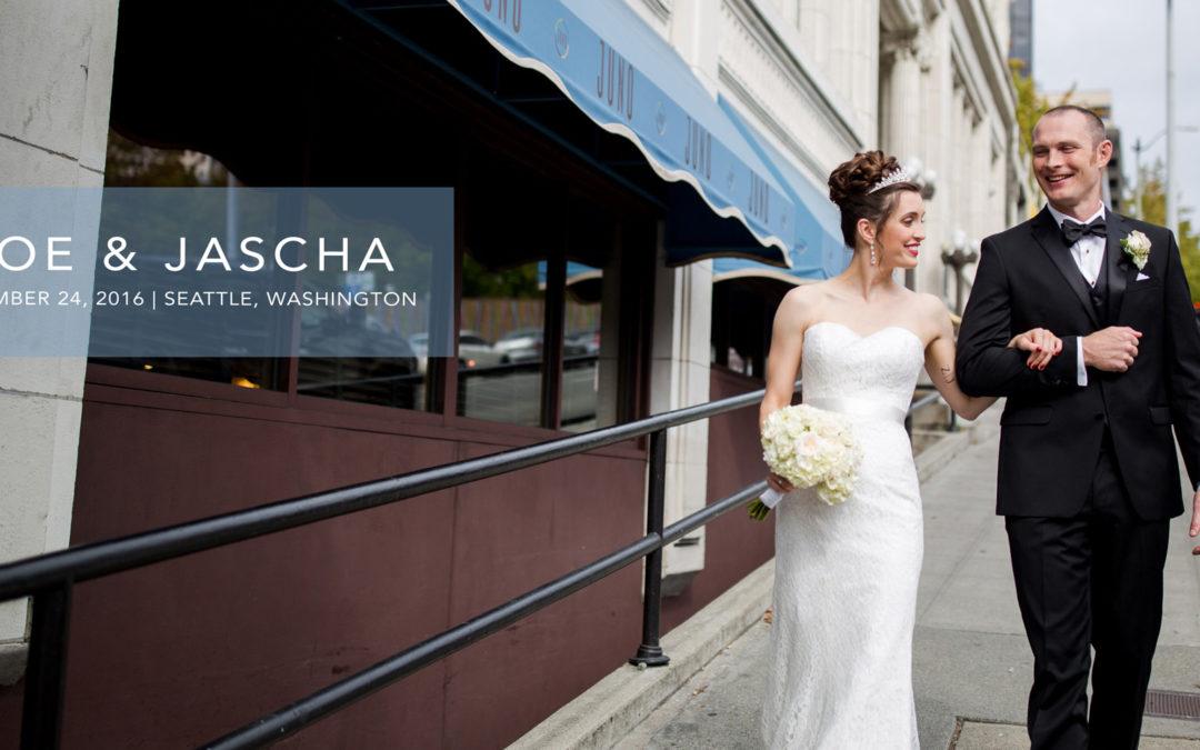 Zoe + Jascha's 30-Page Album Design