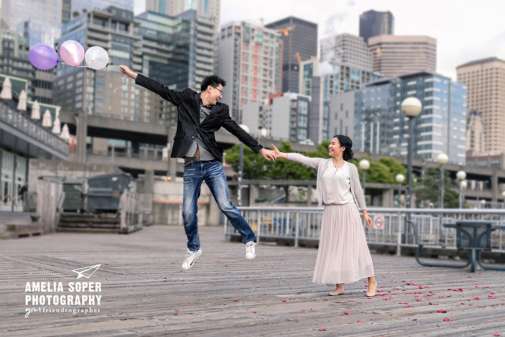 Seattle waterfront engagement