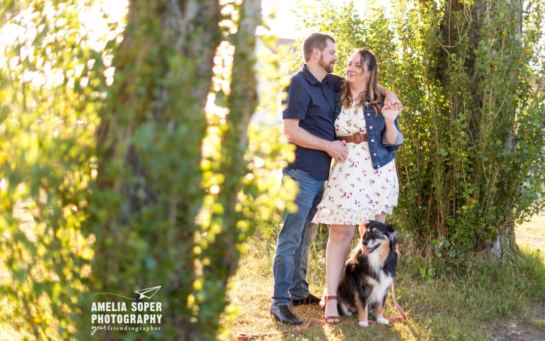 Kristen and Frank's Discovery Park engagement session