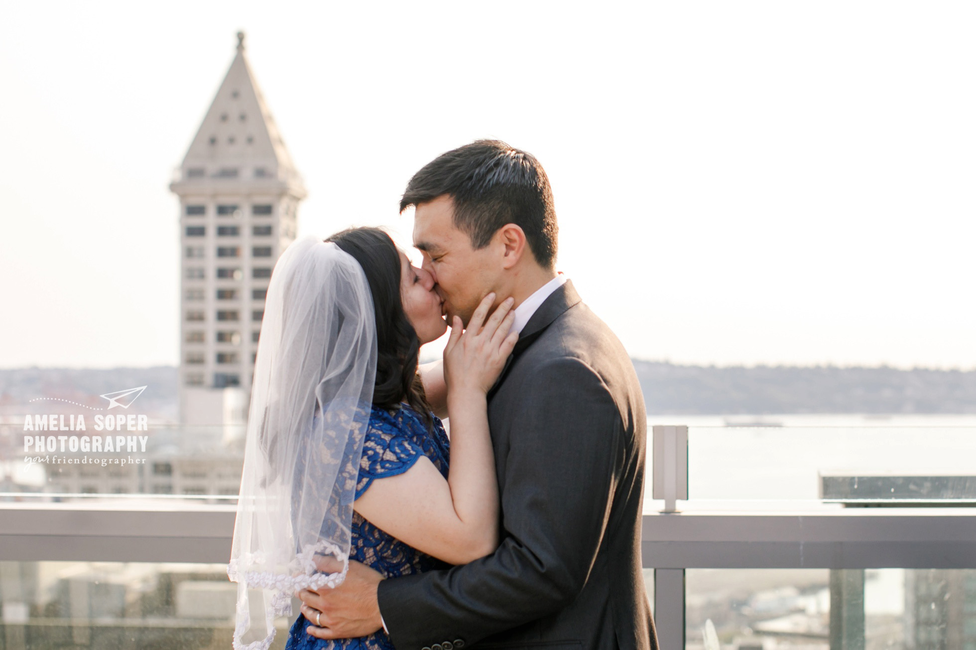 Seattle courthouse elopement