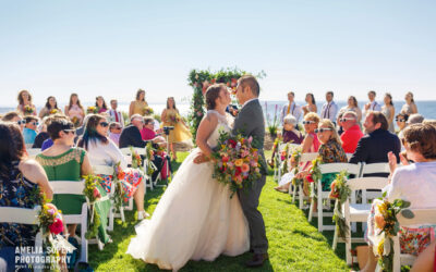 Sarah and Albert's Sunny Semiahmoo Resort Wedding