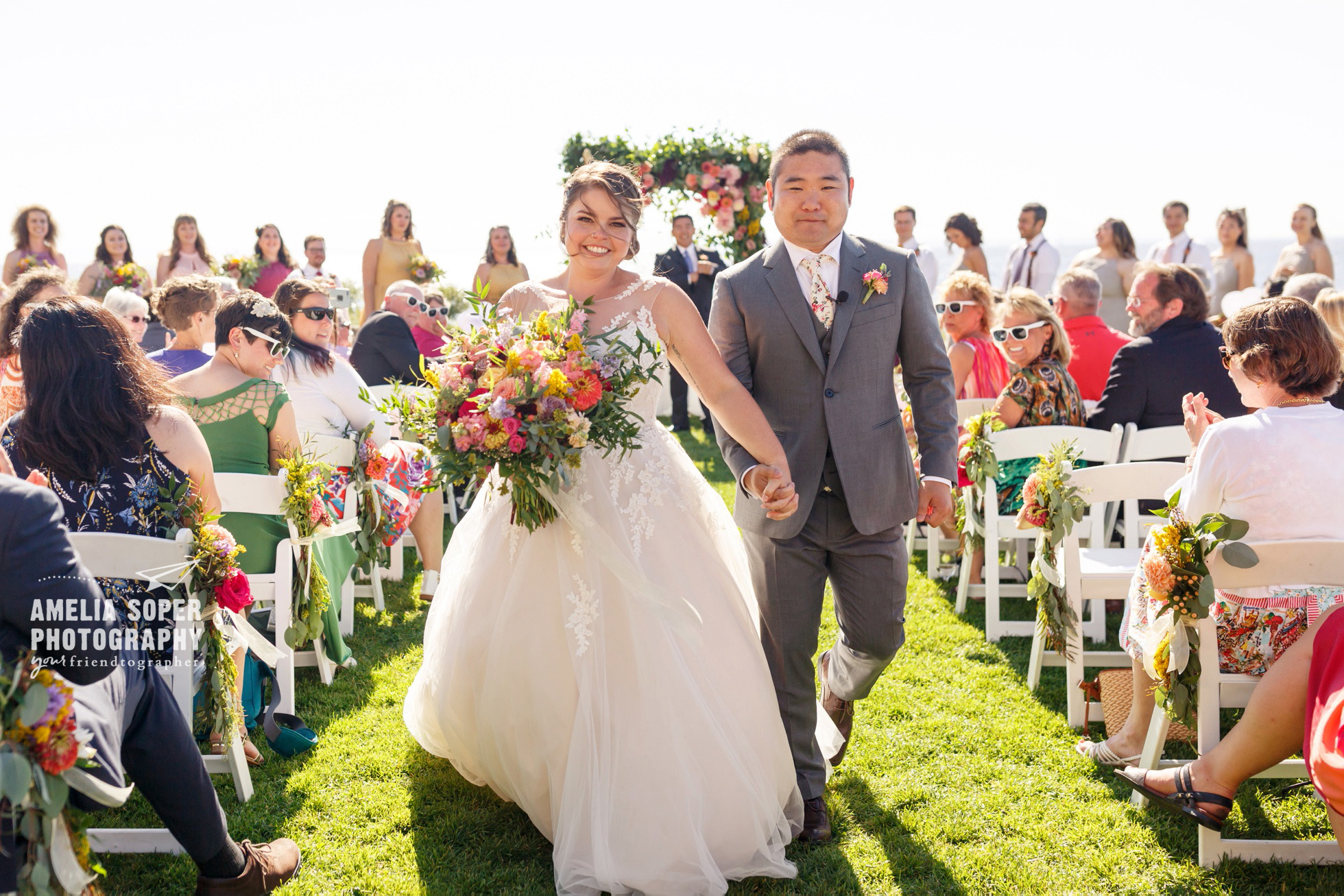 Destination wedding at Semiahmoo resort in Blaine, Washington PNW