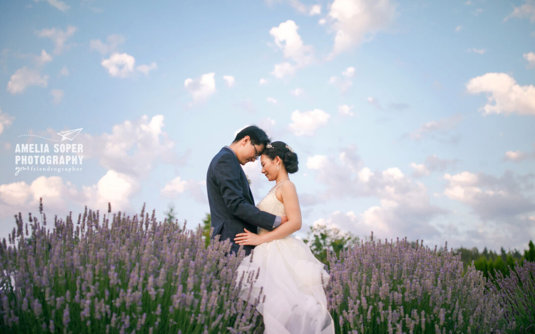 Y and Z's Magical Woodinville Lavender Wedding