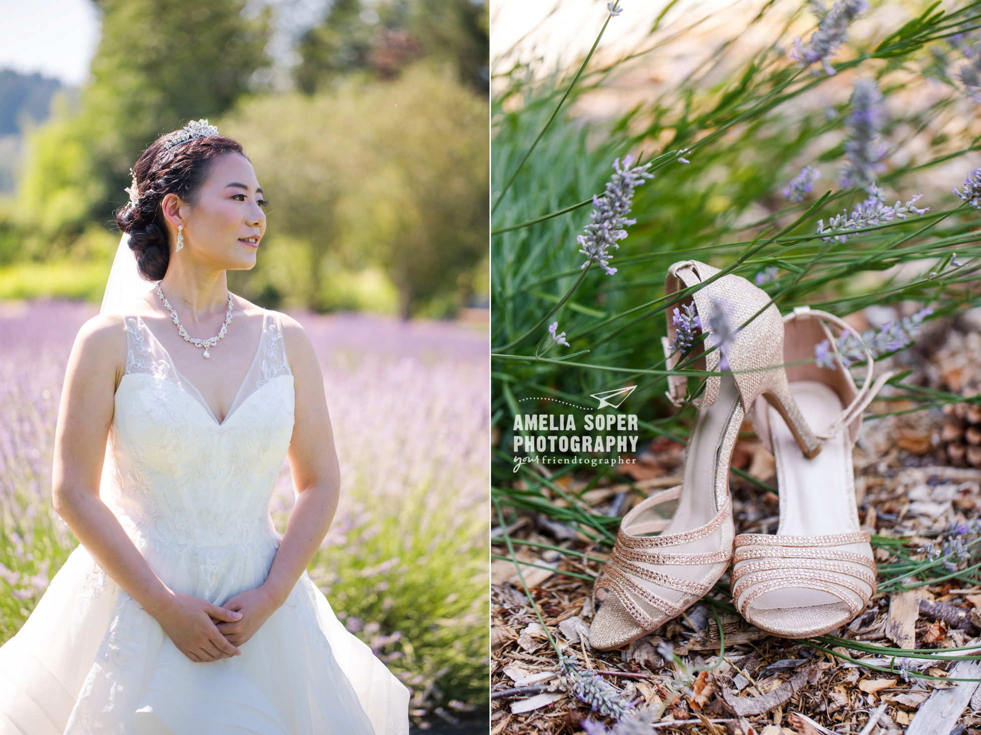 Woodinville Lavender Wedding
