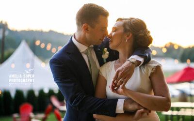 Katie and Ryan's Joyful Matthews Winery Wedding