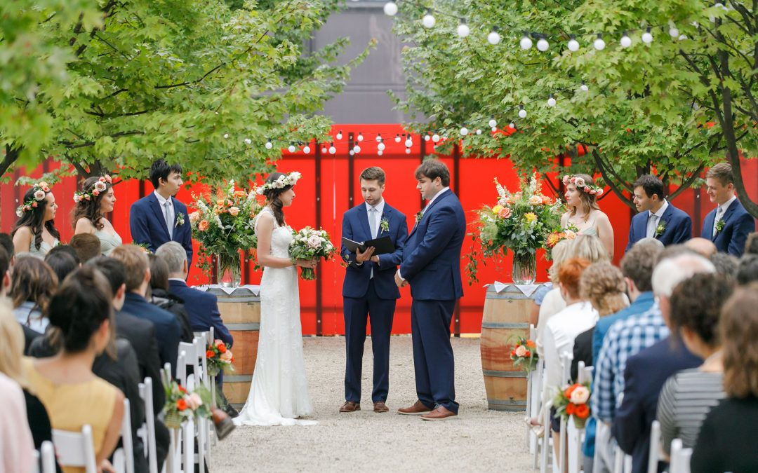 Vanessa and Geoff's Flower-Filled Januik Winery Wedding