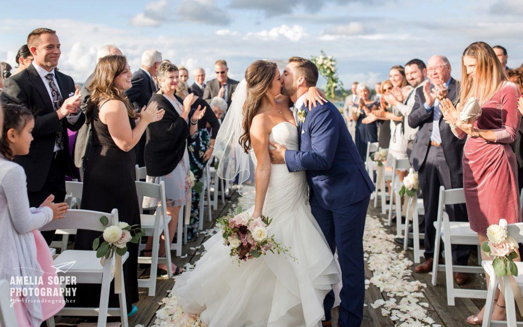 Lindsey & Brian's Rosy Semiahmoo Resort Wedding