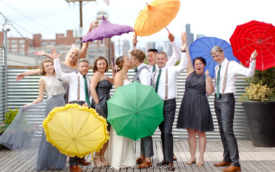 14 Couples Who Didn't Let Rain Ruin Their Wedding Day