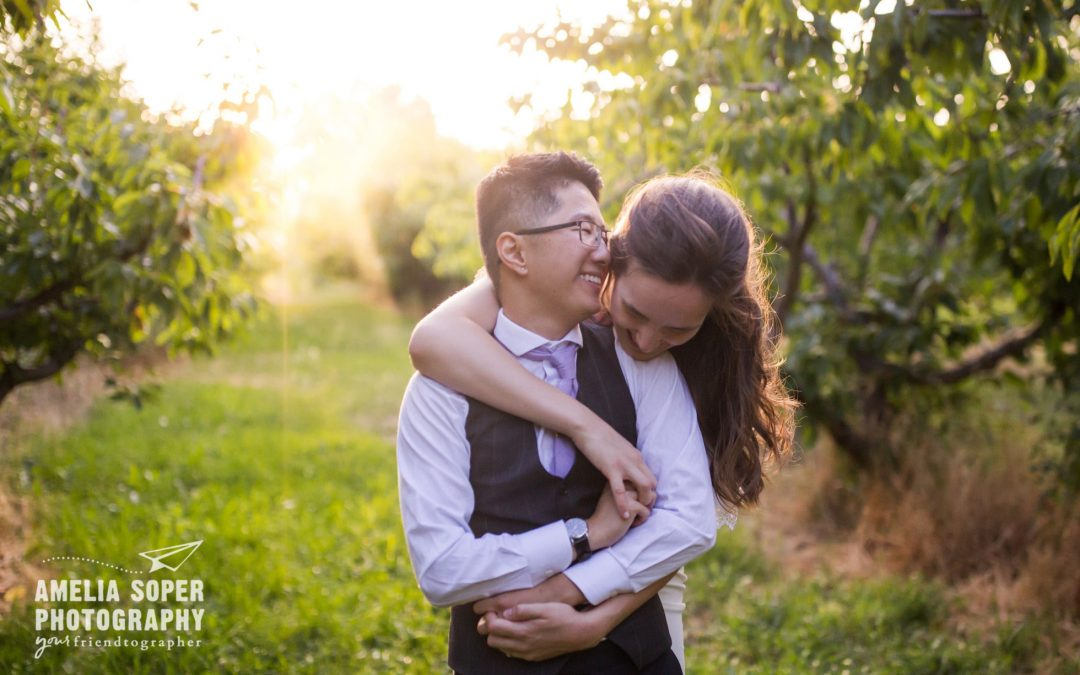 Anna and Wei's Dreamy Warm Springs Inn Wedding in Wenatchee