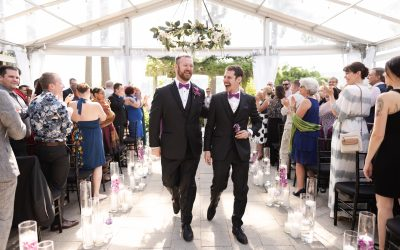 Logan + Mike's Manor House at Pleasant Beach Village Wedding