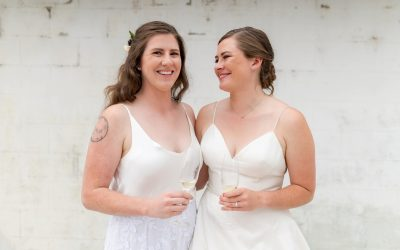 Anna & Hanna's Joyous Same-Sex Wedding at Dairyland in Snohomish