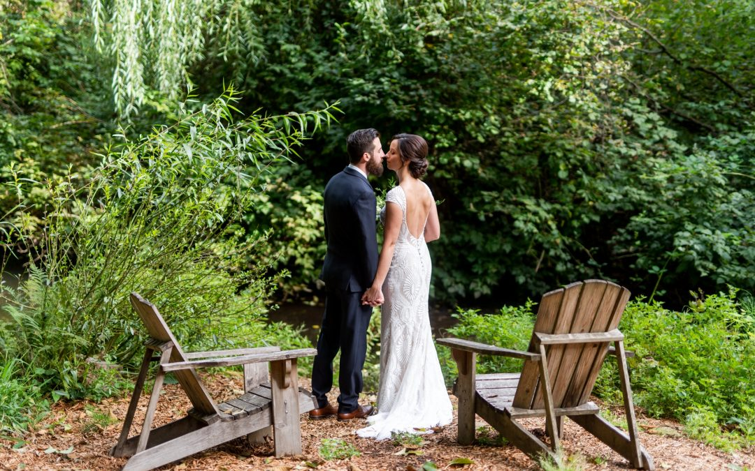 Shannon + Jonathan's Romantic Woodinville Wedding at JM Cellars