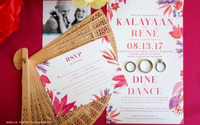 Kalayaan + René's Festive 415 Westlake Wedding
