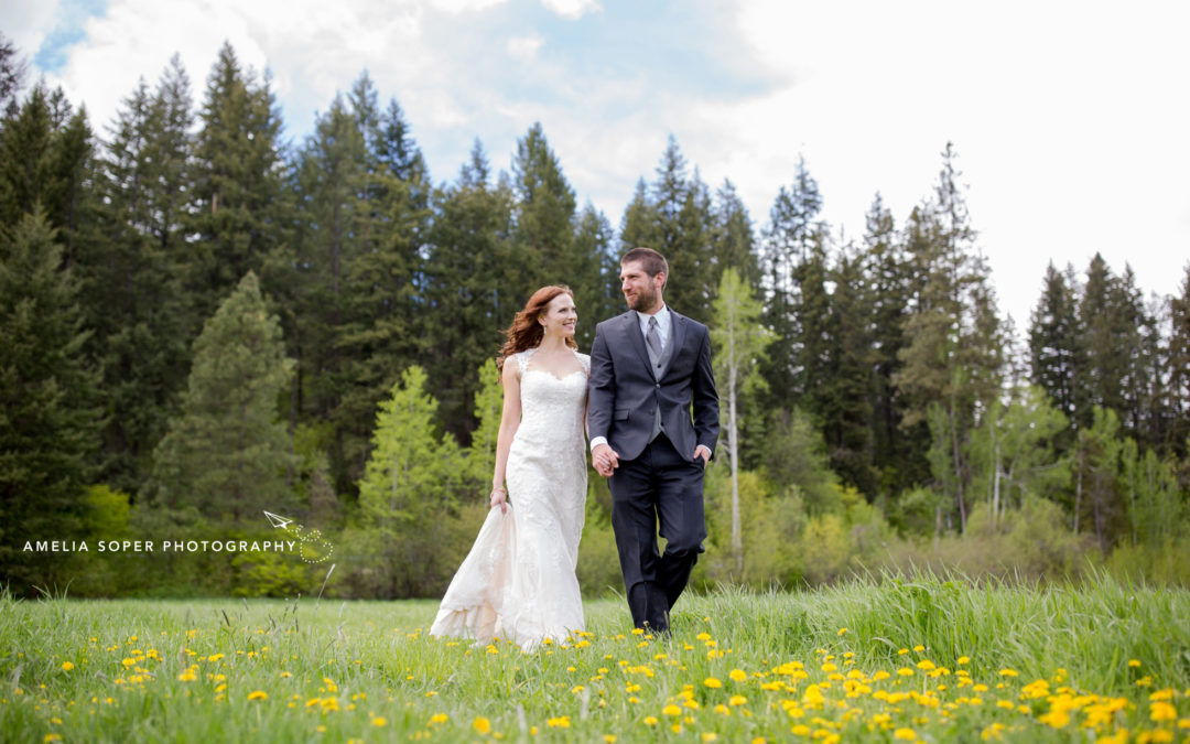 Chelsea & Derek's Spring Wedding at Mountain Springs Lodge